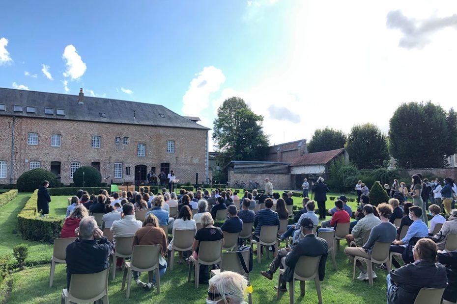 Retour sur une série de concerts réalisés par l'Ensemble Hemiolia à Lillers, au Musée des Beaux-Arts et à la Cité de la Dentelle de Calais, à l'École Dany Pruvost et aux Jardins du Carmel d'Abbeville.