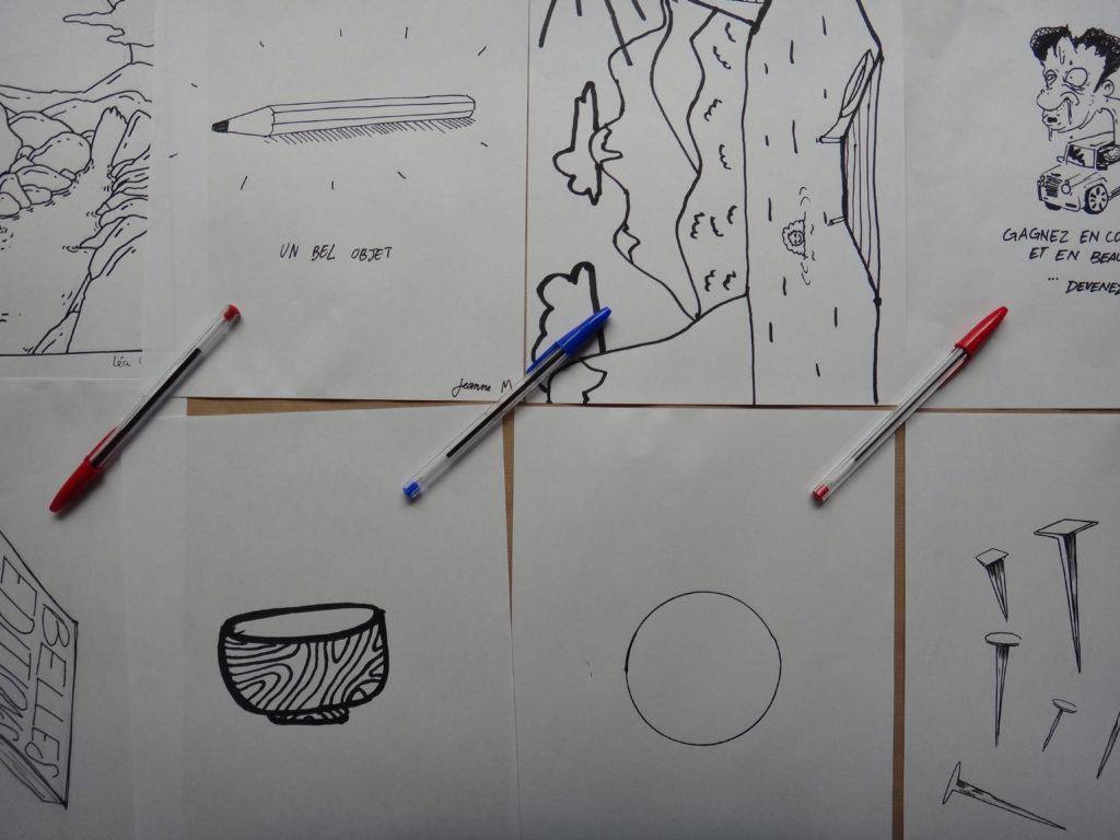 Alors qu'elle a fini son dessin, Adèle, la jeune étudiante s'amuse de cette expérience à laquelle elle a modestement pris part. « Qu'on soit étudiant en arts ou agriculteur dans l'Aisne, on a tous des définitions différentes de ce qui est beau, influencées par nos parcours et nos milieux de vie. Mais au final, personne n'a une meilleure définition qu'un autre. C'est la beauté de ce sujet d'étude. »