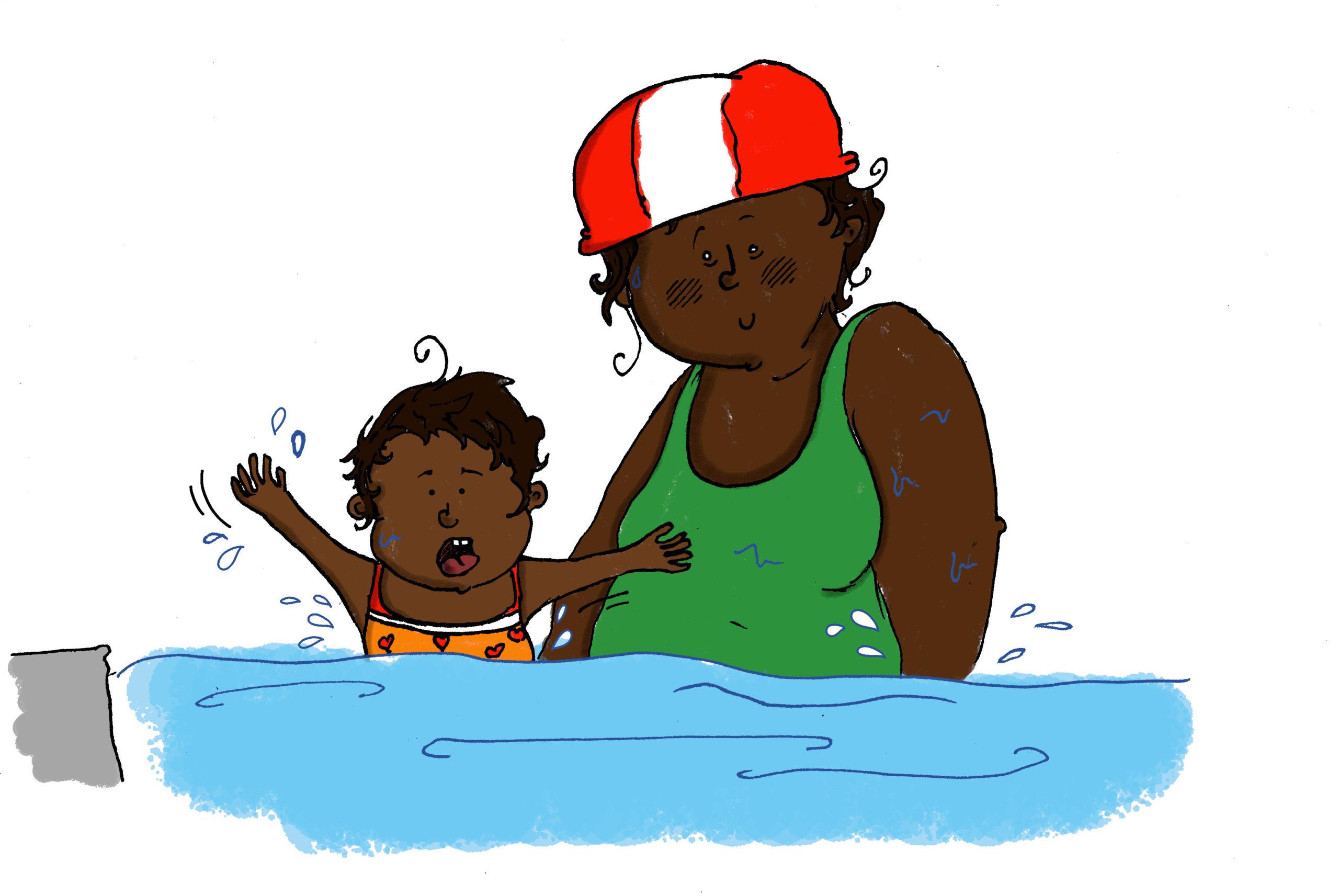 Bric & Broc à la piscine